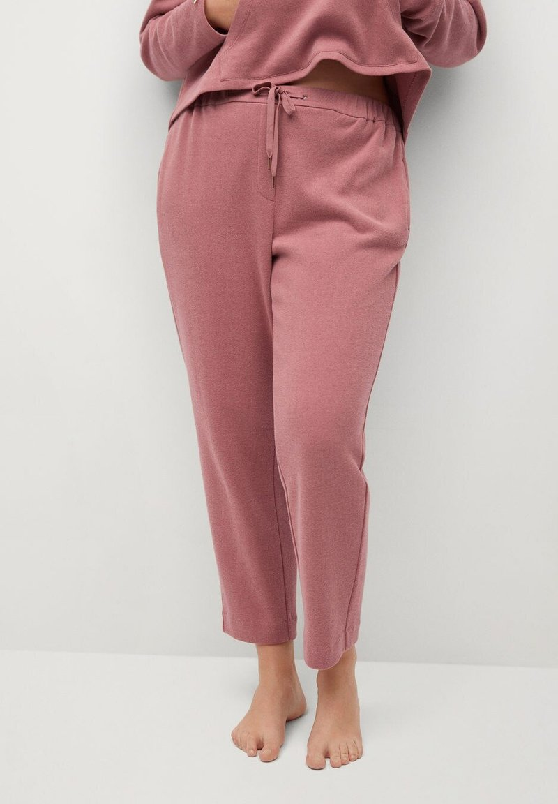 Violeta by Mango - CUPCAKE - Tracksuit bottoms - rosa