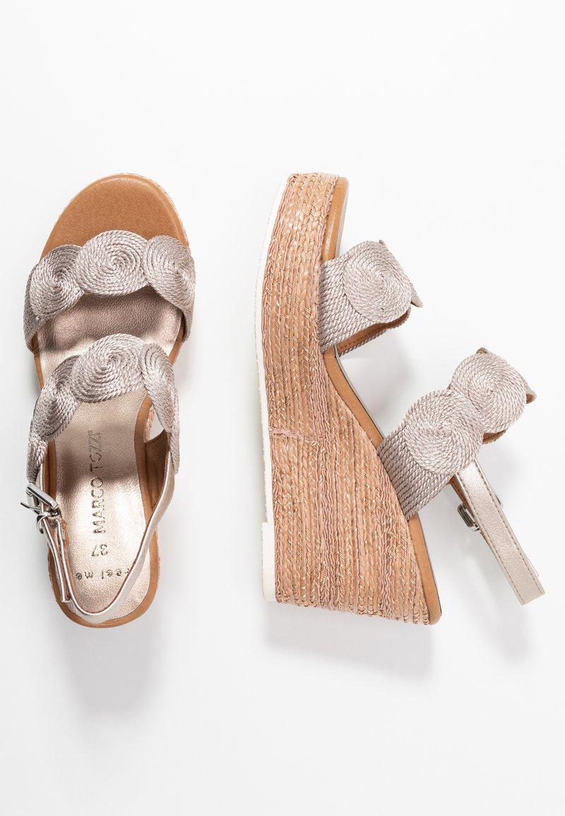 Marco Tozzi - High heeled sandals - rose metallic