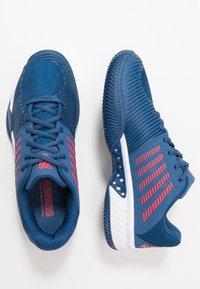 K-SWISS - EXPRESS LIGHT 2 HB - Clay court tennis shoes - dark blue/white/bittersweet - 1