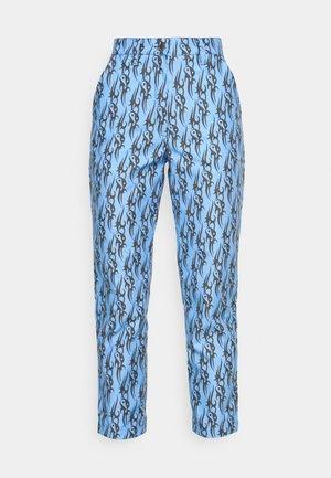 TRIBAL LOVE PANTS - Trousers - blue