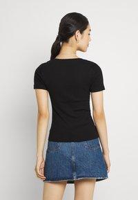 Vero Moda - VMZOE TEE - Basic T-shirt - black - 2
