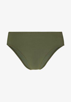 HIGHWAIST - Bikini bottoms - oliv