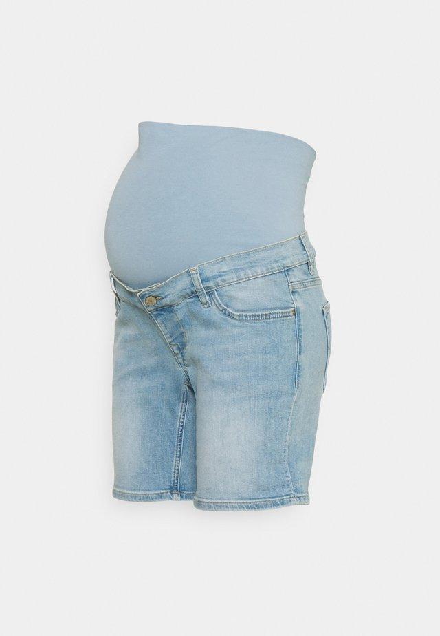 FOREST - Shorts di jeans - vintage blue
