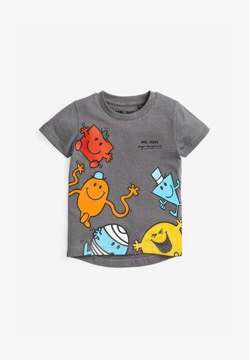 MR MEN PRINTED JERSEY T-SHIRT - Print T-shirt - grey