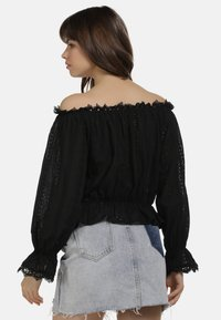 myMo - BLUSE - Blouse - black - 2