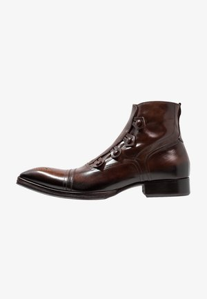 Kotníkové boty - testa di moro