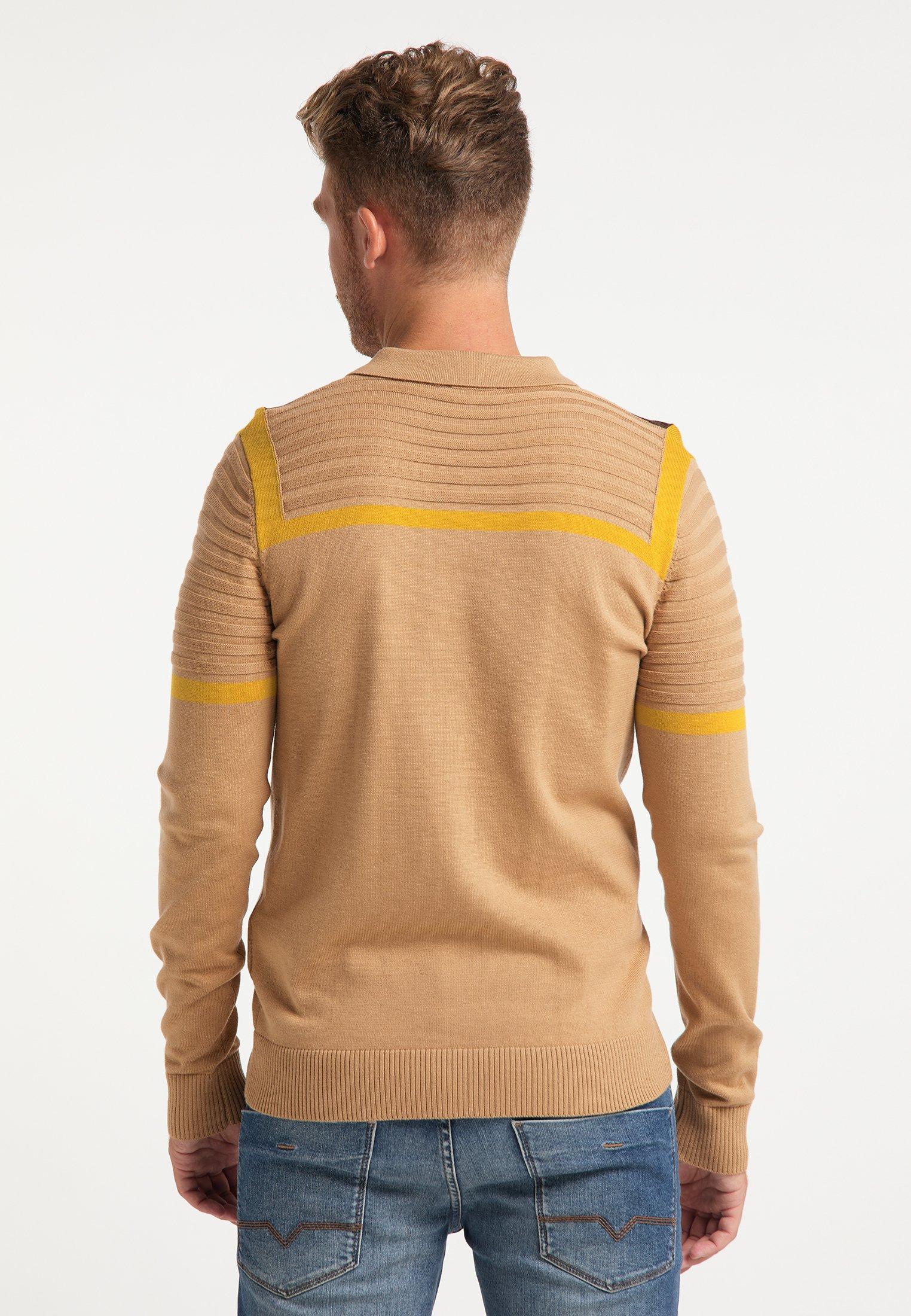 Mo Polo shirt - multicolor kamel cK9vO