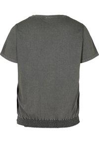 Zizzi - Print T-shirt - dark grey - 5