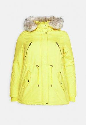 VMAGNESBEATE - Zimní kabát - celery