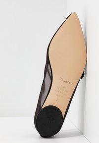 Repetto - MYLEN - Ankle strap ballet pumps - noir - 6