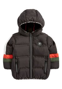 Next - BLACK COLOURBLOCK PADDED JACKET (3MTHS-7YRS) - Winterjas - black - 0