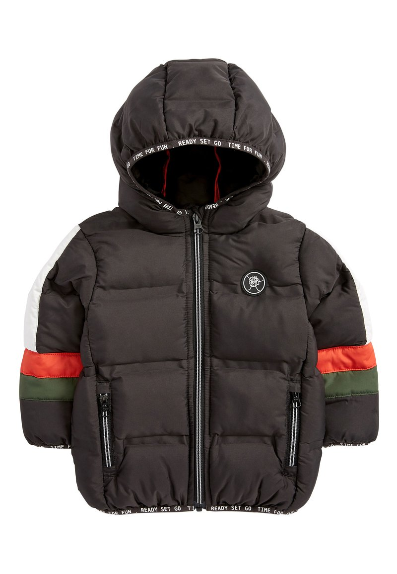 Next - BLACK COLOURBLOCK PADDED JACKET (3MTHS-7YRS) - Winterjas - black