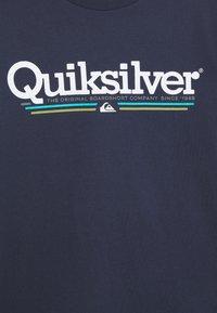 Quiksilver - SCREEN TEE - Printtipaita - parisian night - 2