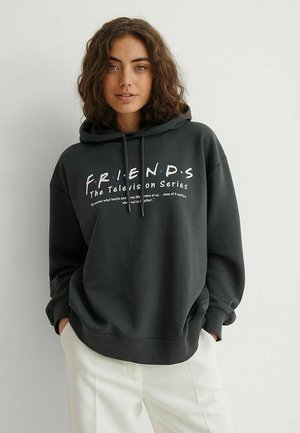Hoodie - grey friends definition
