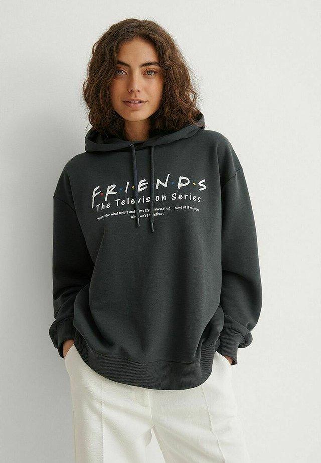 Felpa con cappuccio - grey friends definition