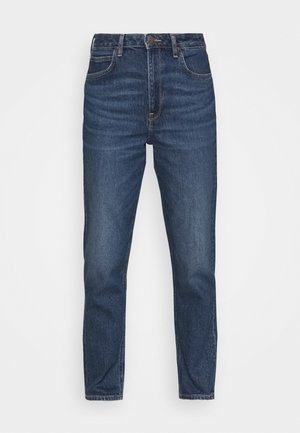 CAROL - Jeans straight leg - dark ruby