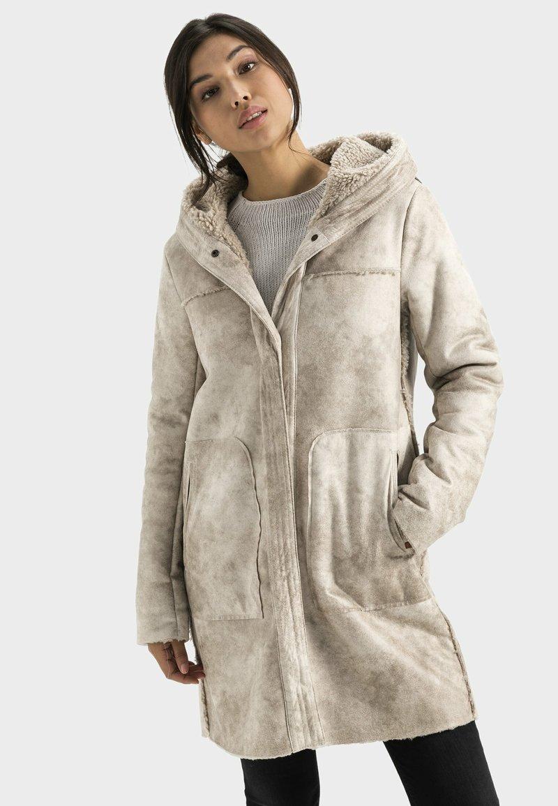 camel active - Short coat - cream