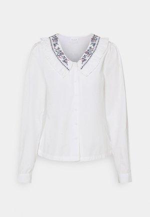 VIKAMILLA DETAILED COLLAR - Blouse - white