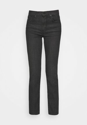 724 HIGH RISE STRAIGHT - Straight leg jeans - black cloud