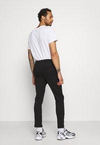 Brave Soul - ROCKERPLAIN - Cargo trousers - black - 2