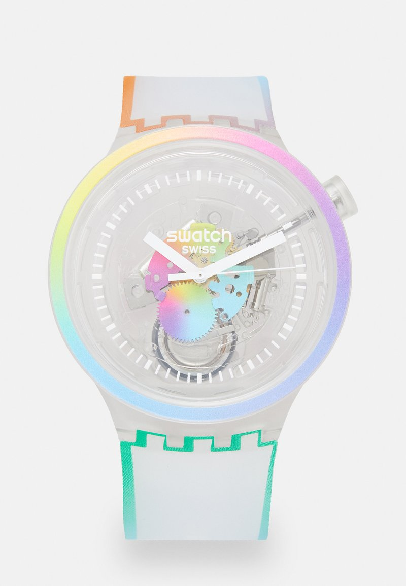 Swatch - LETS PARADE - Reloj - white