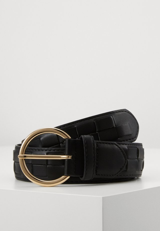 PCJYDA WAIST BELT KEY - Waist belt - black/gold-coloured