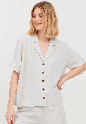 BYJOHANNA  - Button-down blouse - light sand mix