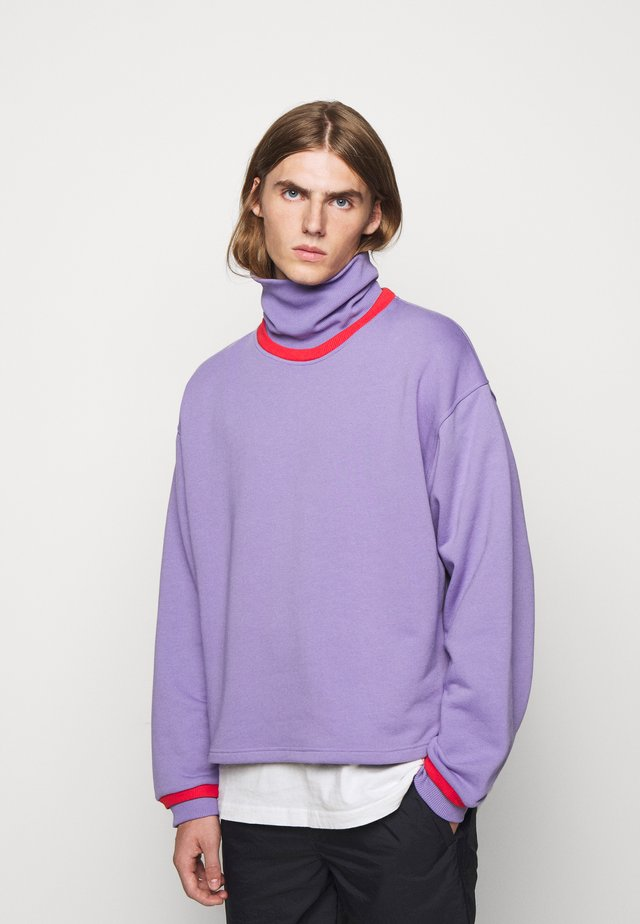 NATHAN TURTLENECK - Collegepaita - purple haze