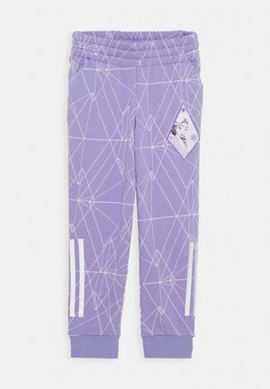 PANT - Tracksuit bottoms - light purple/white