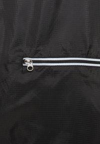 4F - Men's running jacket - Sports jacket - black - 3