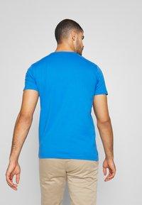 Esprit - LOGO - Print T-shirt - bright blue - 2