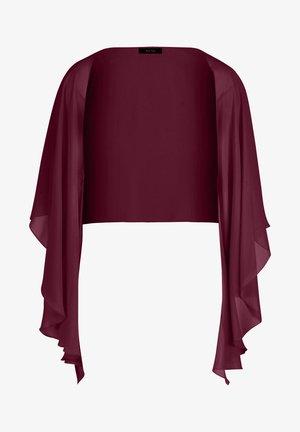 MET KNOPEN - Summer jacket - shiny bordeaux