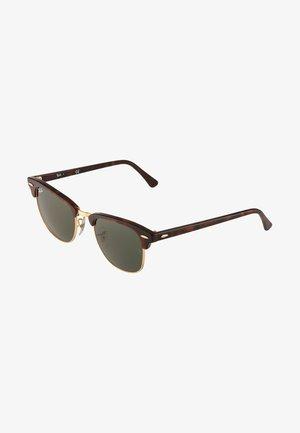 0RB3016 CLUBMASTER - Sonnenbrille - braun/goldfarben