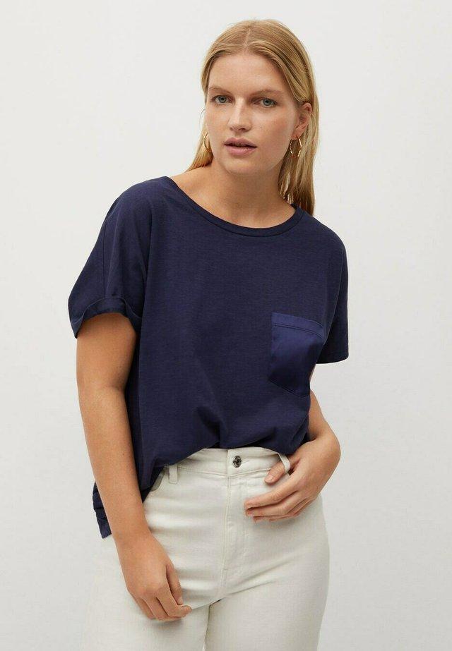 MAIZ - T-shirt basique - donkermarine