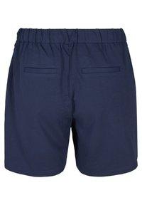 Zizzi - Tracksuit bottoms - navy blazer - 5