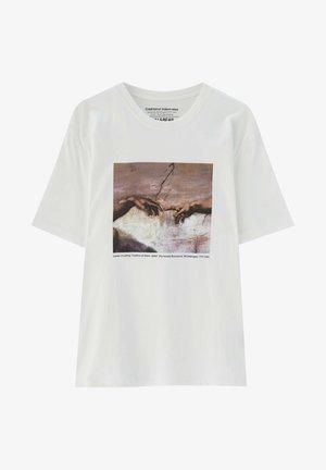 DIE ERSCHAFFUNG ADAMS - T-shirt print - off-white