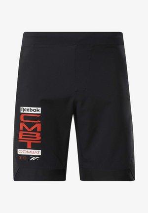 COMBAT MMA SHORTS - Sports shorts - black