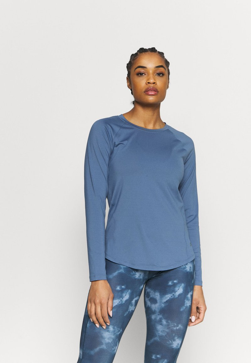 Under Armour - RUSH - Sports shirt - mineral blue