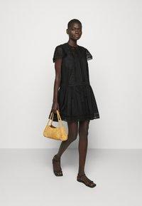 TWINSET - ABITO CON SOTTOVESTE  - Day dress - nero - 1
