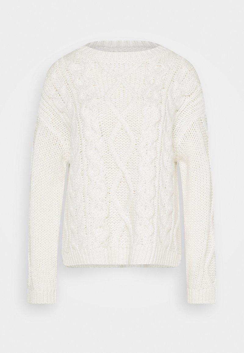 Marc O'Polo PURE - CABLE  - Jumper - winter natural white