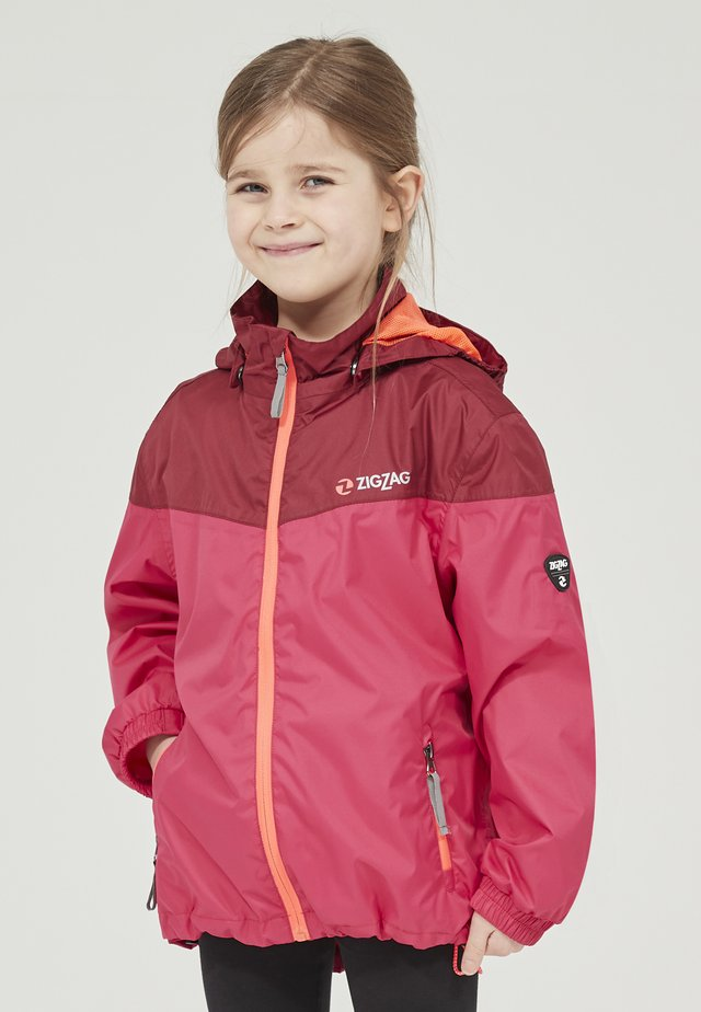 Outdoor jacket - 4136 tibetan red