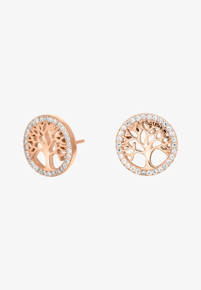 CAIANOR - Oorbellen - rose gold plated