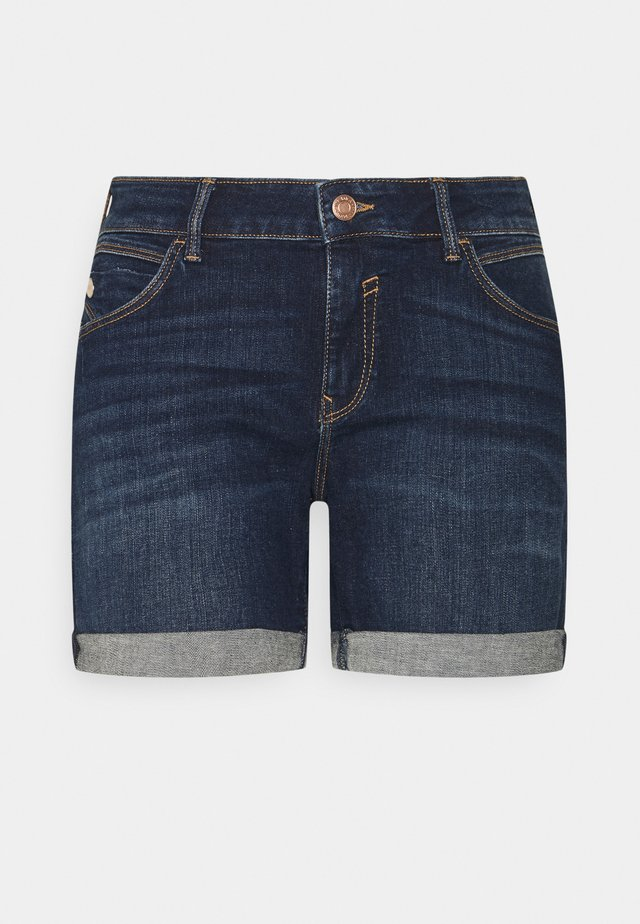 PIXIE - Short en jean - dark brushed milan