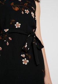 Vero Moda - VMCALLIE SMOCK DRESS - Day dress - black - 6