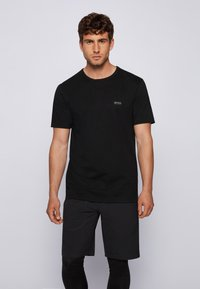 BOSS - TEE - T-shirt basic - black - 0