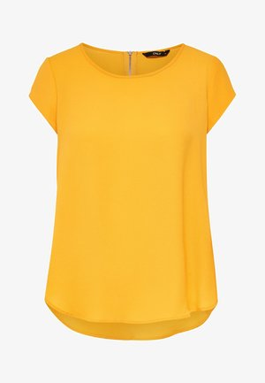 ONLVIC SOLID  - T-Shirt print - yellow