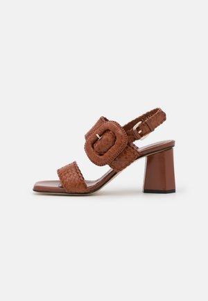 Sandaalit nilkkaremmillä - toffe