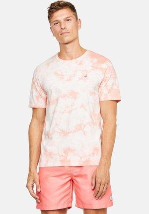 Print T-shirt - lachs