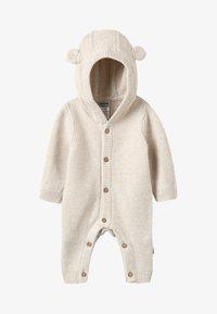 Jacky Baby - HELLO WORLD - Overall / Jumpsuit - beige melange - 3