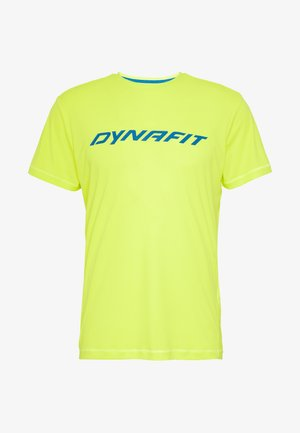 TRAVERSE TEE - T-Shirt print - fluo yellow